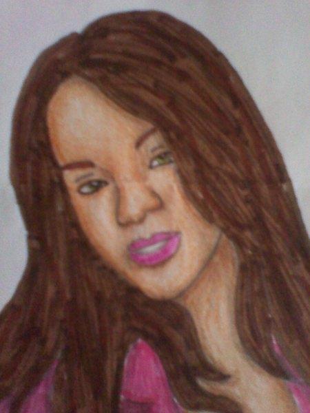 Rihanna por saray